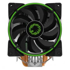 Gamemax Gamma 500 CPU Green LED Large Heatsink & 120mm FAN + 5x 6mm Heatpipes