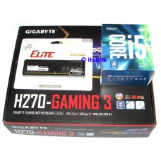 Gigabyte H270 Gaming 3 Motherboard + Intel Core i5-7400 Quad 1151 + 8GB DDR4