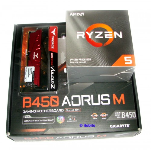 Gigabyte B450 Aorus M Amd Ryzen 5 3600 3 6ghz Six Core 8gb 2666 Ddr4 Ram