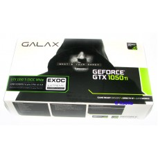 Galax GTX1050Ti EXOC White 4GB DDR5 PCI-E 3.0 Video Card HDMI Dual Link DVI DP