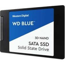 "Western Digital 1TB SSD Blue 3D Nand Sata 3 6Gb/s 2.5"" 7MM Solid State Drive"