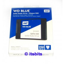 Western Digital 250GB Blue SSD Sata 3 6Gb/s Solid State Drive Nand Tech 3YR warranty