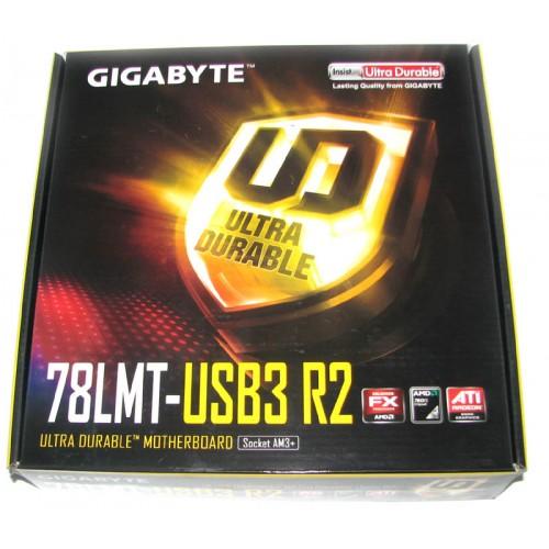 Gigabyte 78LMT-USB3 R2 AM3+ Motherboard USB 3 0 4 Ram Slots HDMI DVI
