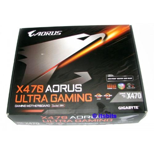 Gigabyte X470 Aorus Gaming AM4 Motherboard USB3 DVI HDMI