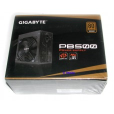 Gigabyte PB500 500W 80+ Bronze ATX Power Supply 38A 12V Rail PCI-E 2x  6/8 VIDEO