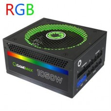 Gamemax 1050W RGB ATX Power Supply 256 Colour 14CM fan Modular 80+ Gold 82W 12V